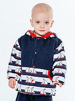 Куртка Кораблик, синяя арт. 1427/012/112
