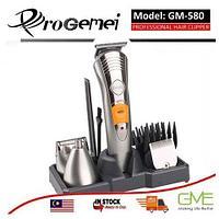 Набор для мужской стрижки - беспроводной триммер 7-в-1 ProGemei GM-580