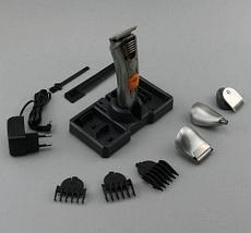 Набор для мужской стрижки - беспроводной триммер 7-в-1 ProGemei GM-580, фото 3