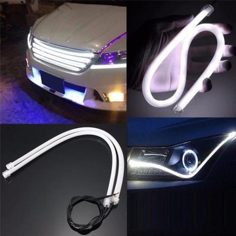 Лента светодиодная - автомобильный повторитель сигналов с анимацией Running Lamp (для установки впереди)