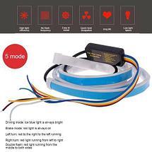 Лента светодиодная - автомобильный повторитель сигналов с анимацией Running Lamp (для установки впереди), фото 3