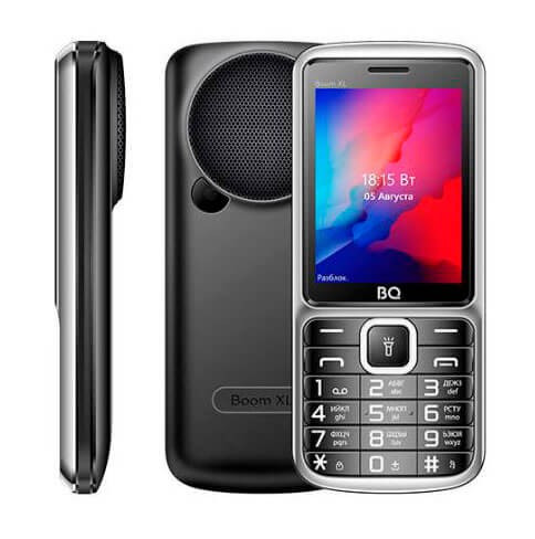 Мобильный телефон BQ-2810 BOOM XL Чёрный