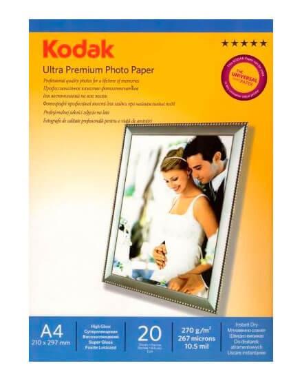 Фотобумага A4 KODAK CAT 5740-816 20 Л. 270 Г/М2 суперглянц. на рез. основе