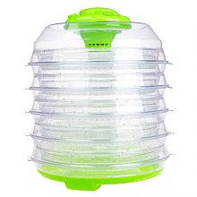 Сушилка для продуктов Saturn ST-FP0113 на 6 ярусов зеленый
