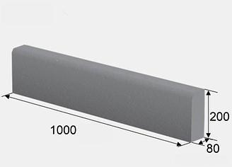 Матрица блок формовочного станка QT5 для производства бордюра 1000*80*200