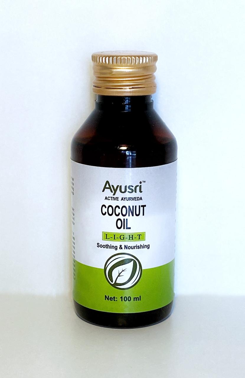 Кокосовое масло для волос и тела, 100мл, Ayusri, Coconut Oil