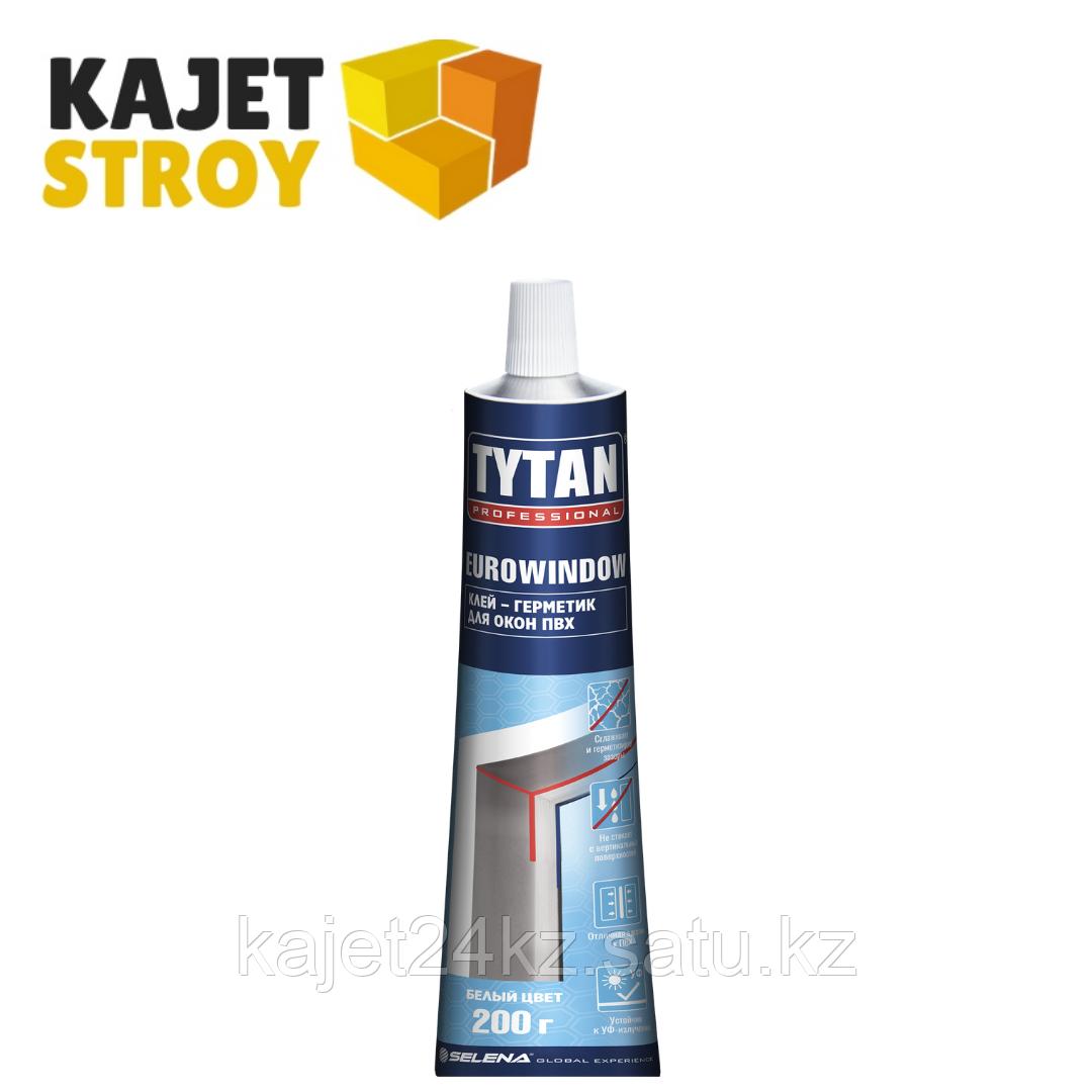 TYTAN клей-герметик для окон ПВХ (200г) белый