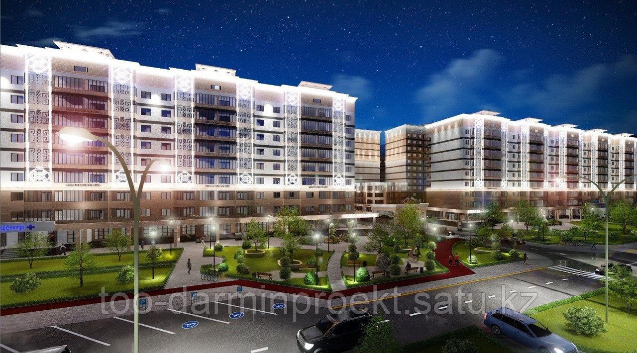 Разработка проекта административных зданий.