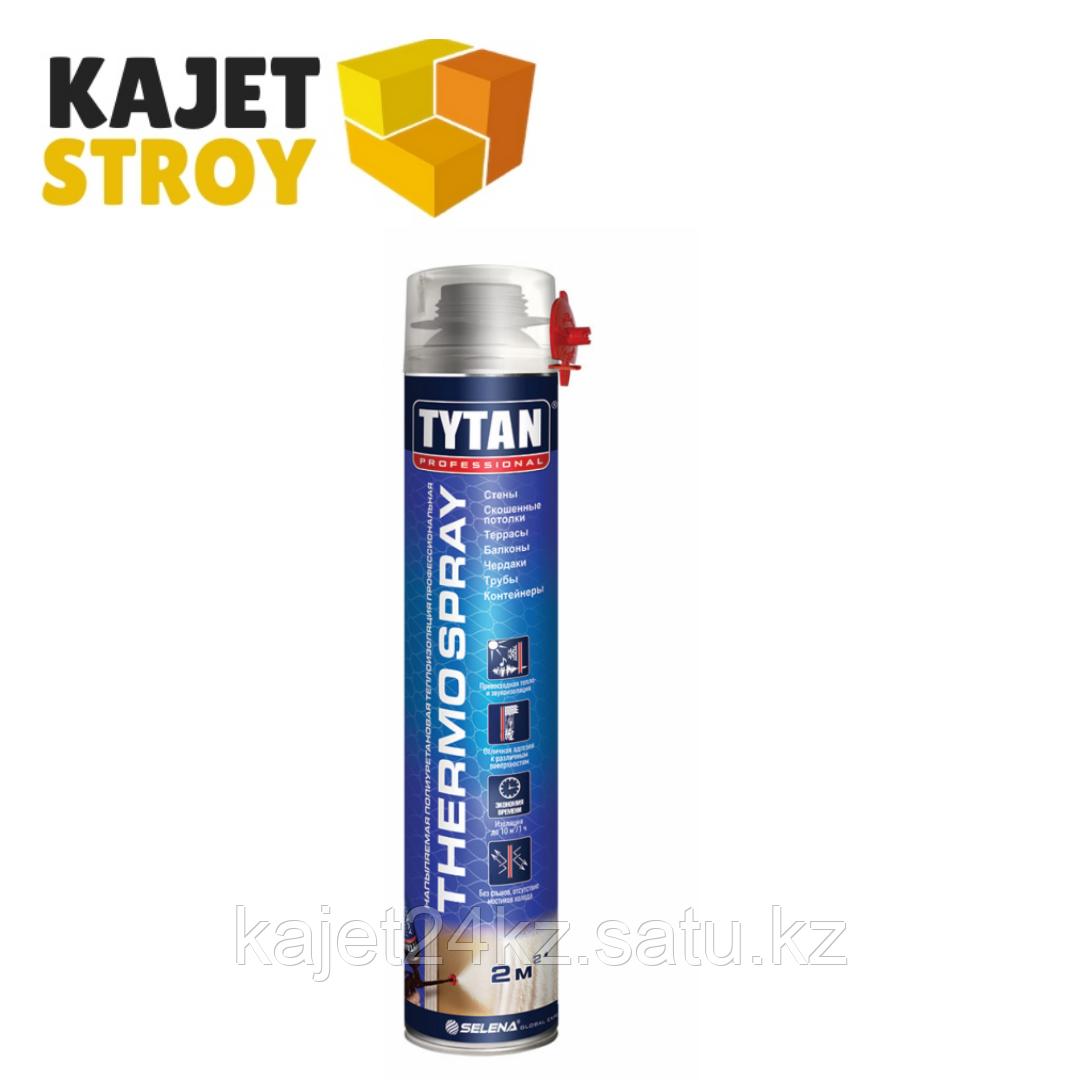 TYTAN термоизоляция ПРОФ напыляемая полиуретановая THERMOSPRAY, 870 мл