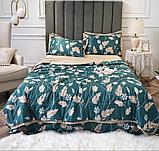 Летний постельный комплект с одеялом полуторка, фото 5