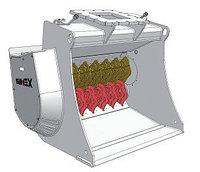 Ковш просеивающий (роторный) для экскаватора Hyundai