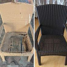 Реставрация плетеной мебели