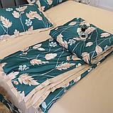 Летний постельный комплект с одеялом полуторка, фото 4