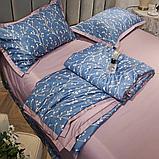 Летний постельный комплект с одеялом полуторка, фото 3