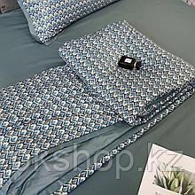 Летний постельный комплект с одеялом полуторка