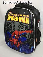 Школьный ранец для мальчика,1-2 класс. Высота 37 см, ширина 28 см, глубина 15 см.