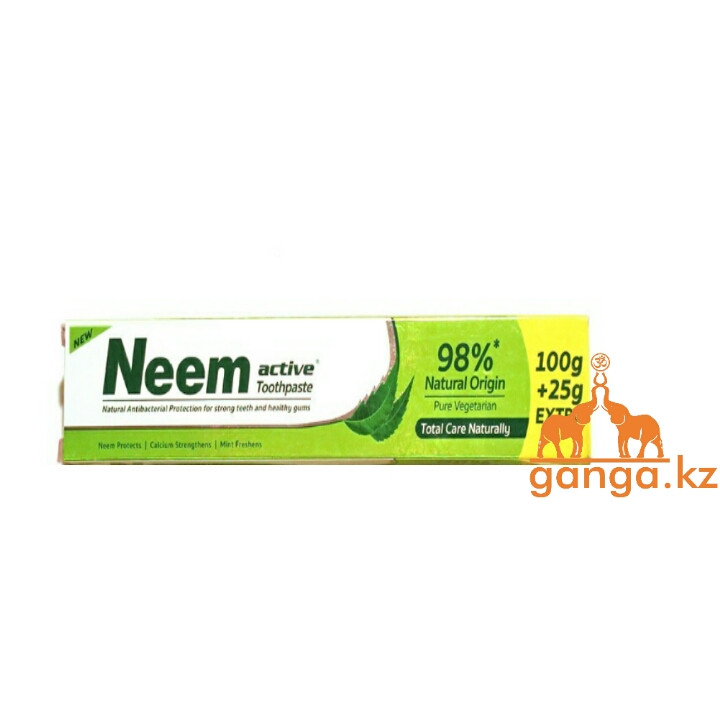 Зубная паста Ним Актив (Neem active JOYTHY LABORATORIES), 100+25 грамм