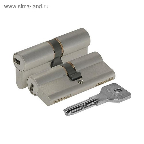 Цилиндровый механизм CISA ASIX OE300-07.12, 60/25х10х25 мм, цвет никель