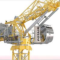 Кран башенный Potain MC480M25
