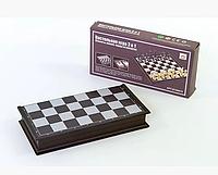 Настольная игра 3 в 1 Шахматы + Нарды + Нарды, размер доски 36х36см