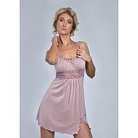 Сорочка женская «АССОЛЬ», цвет лиловый, размер 52