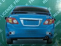 Хром накладка Corolla 2007+ дверь багажника sedan