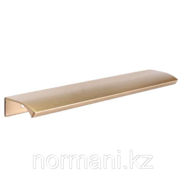 Ручка накладная отделка сталь золото шлифованное 200мм