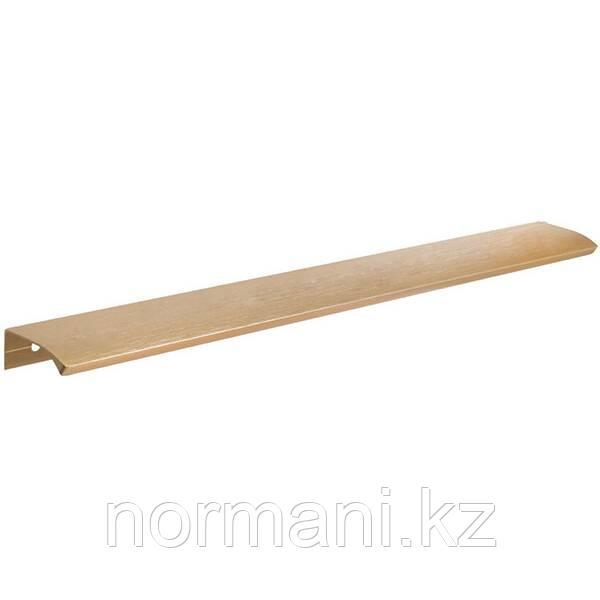 Накладная мебельная ручка отделка золото шлифованное 350мм
