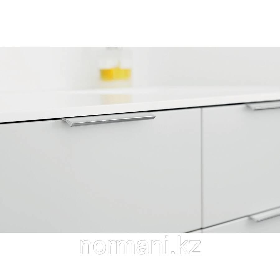 Накладная мебельная ручка отделка Сатин 200мм