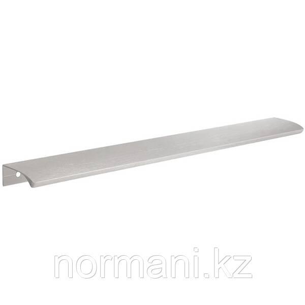 Накладная мебельная ручка отделка Сатин 350мм