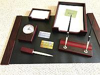 Настольный набор для руководителя Bestar, махагон, 6 предметов