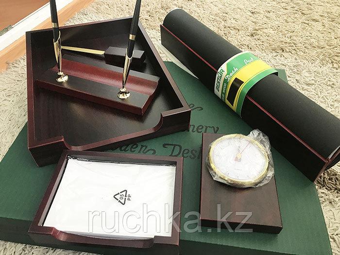 Настольный набор для руководителя Bestar, махагон, 6 предметов - фото 3