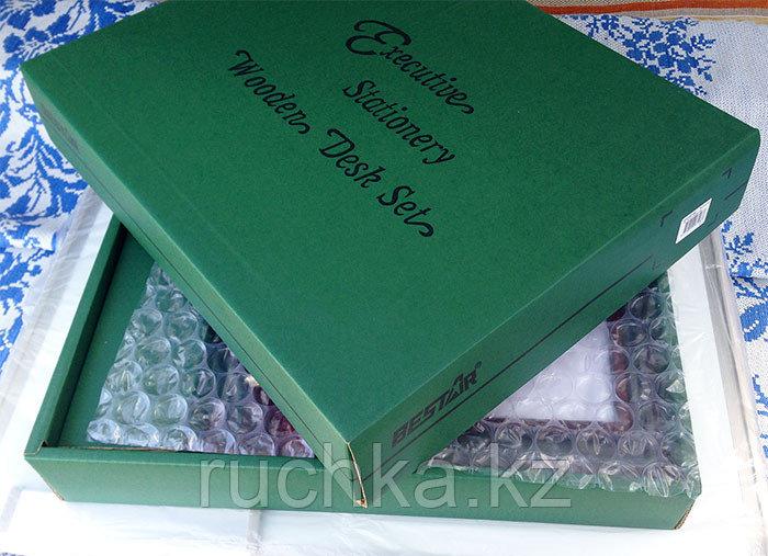 Настольный набор для руководителя Bestar, махагон, 6 предметов - фото 7