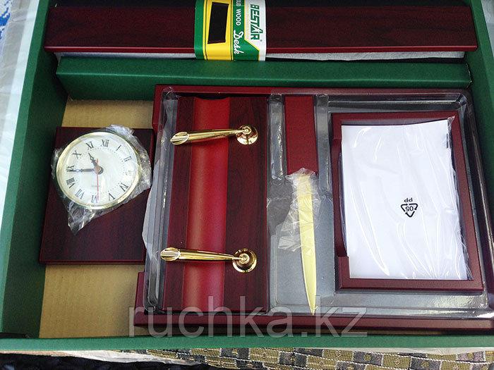 Настольный набор для руководителя Bestar, махагон, 6 предметов - фото 5