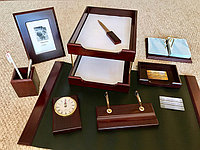 Настольный набор руководителя, 9 предметов, фото 1