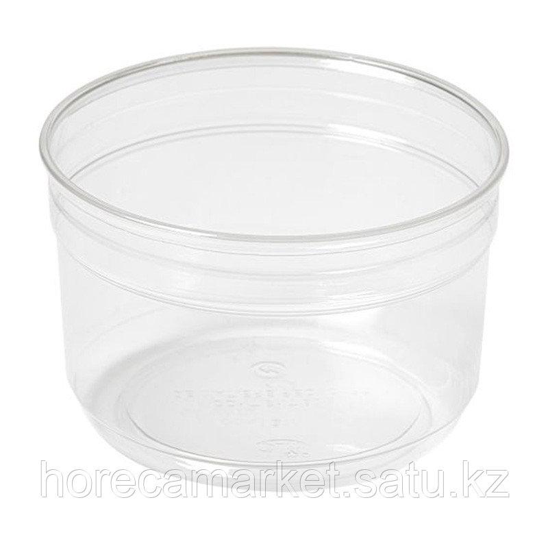 Бокс круглый Crystal Deli, 116х116х44мм, 250 мл, 350шт в коробке