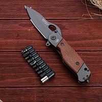 """Нож складной """"Мангуст-Н"""" с набором отверток, фото 1"""