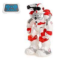 """Робот радиоуправляемый, интерактивный """"Пожарный"""", световые и звуковые эффекты, стреляет, фото 1"""