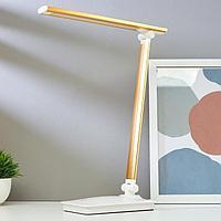 Лампа настольная сенсорная 16097/1GD LED 4Вт USB боло-золотой 28,5х10,3х37,5 см, фото 1