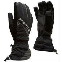 Зимние перчатки СНЕЖОК чёрный, серый, XXXL