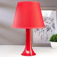 Лампа настольная 13204 1хЕ27 15Вт красный d=22 см, h=34,5 см, фото 1