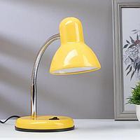 Лампа настольная светодиодная 8Вт LED 750Лм 14xSMD2835 шнур 1,5м желтый, фото 1
