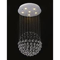 Светильник каскад 671305/6 GU10 40Вт  хром 45х45х60 см