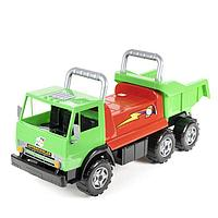 Машина-каталка «Грузовик» Х4, цвет зелёный
