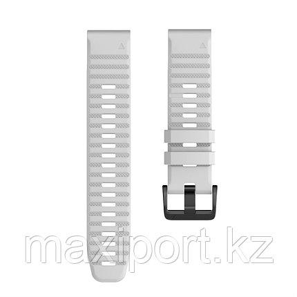 Ремешок силиконовый серый 20мм для Garmin fenix 5s, fenix 5s plus, fenix 6s, фото 2