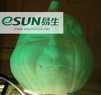 PLA пластик eSUN LUMINOUS GREEN 1.75, фото 4