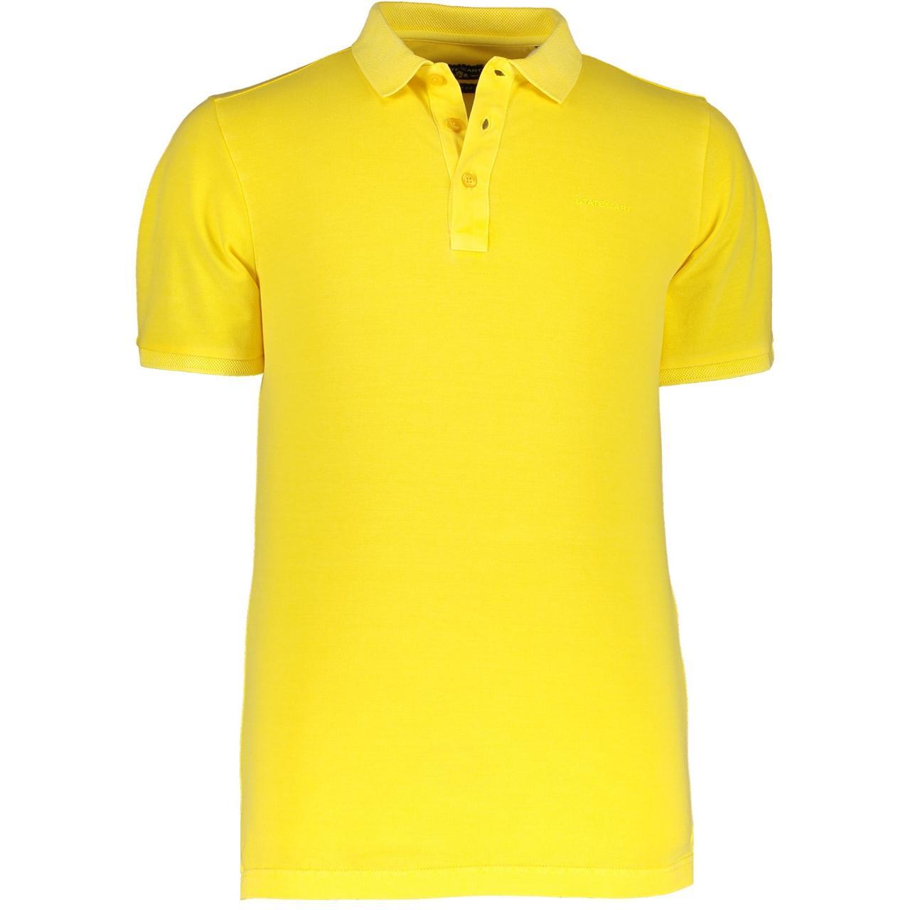STATE OF ART Мужская футболка поло с карманом на груди
