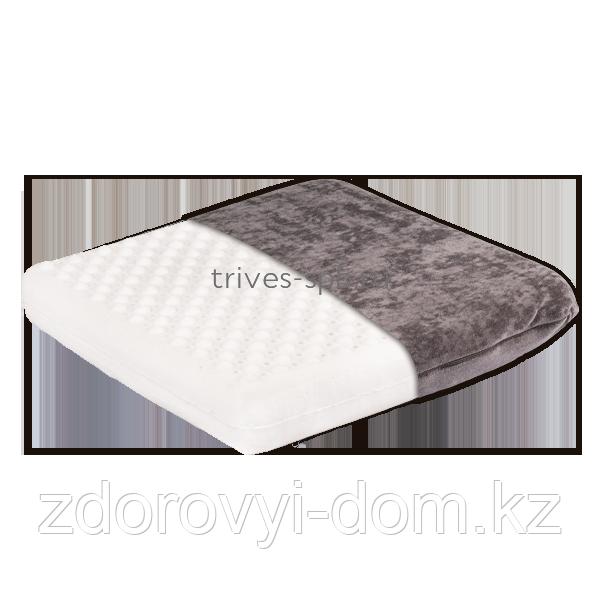 Ортопедическая подушка на сиденье из латекса Т.707 (ТОП-207)