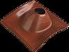 Уплотнительная манжета угловая профи  №2, диаметр 180-280, фланец 525х525