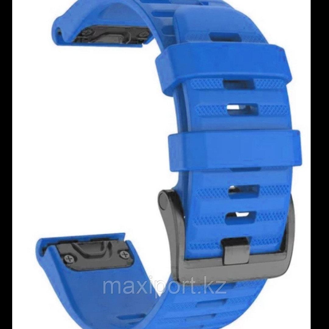 Ремешок силиконовый цвет синий бархат 20мм для Garmin fenix 5s, fenix 5s plus, fenix 6s